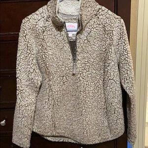 Women's Pullover Half-Zip Jacket.